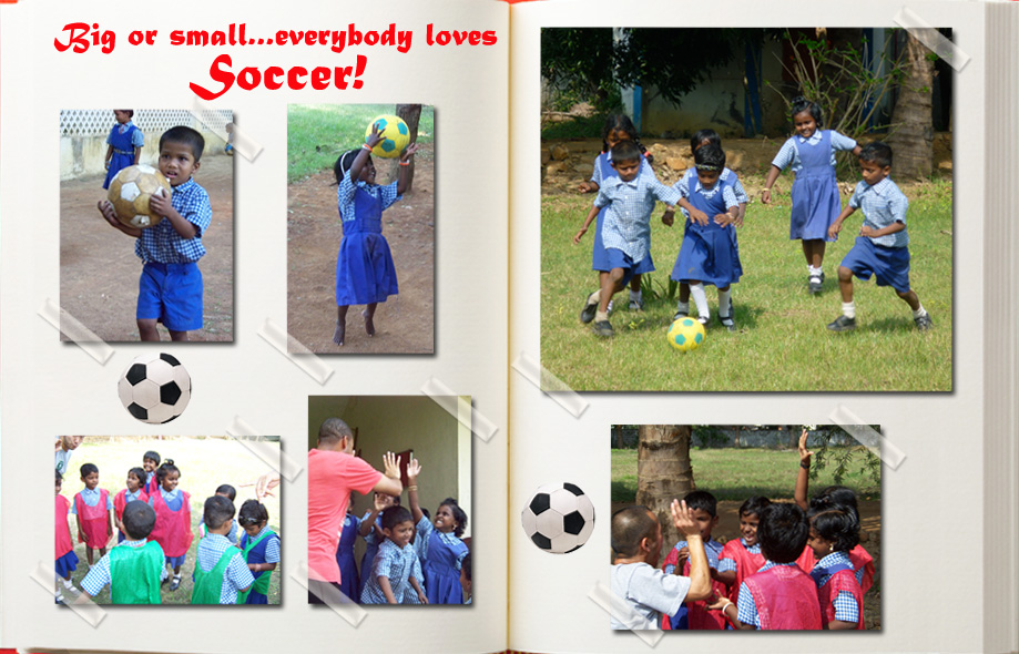 Volunteers spend time teaching soccer every summer at LWT4Kids